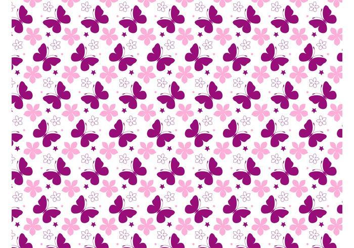 Spring Vector Pattern