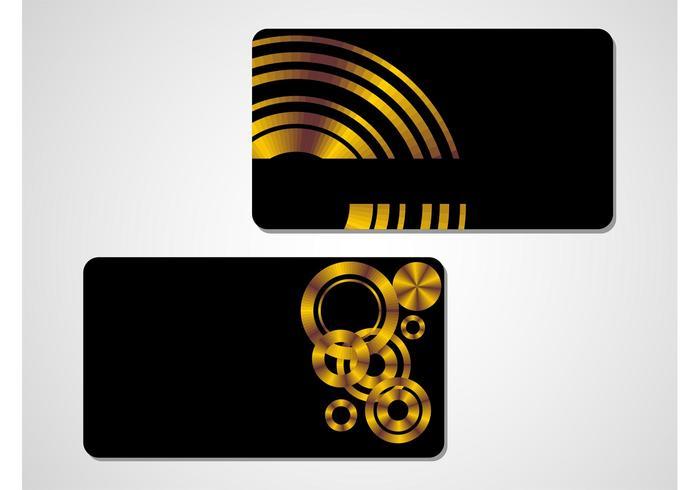 Stylish Golden Vectors