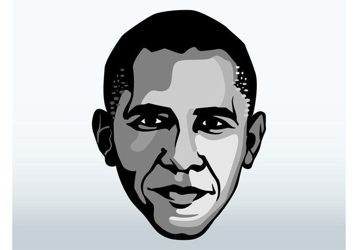 Visage de Barack Obama