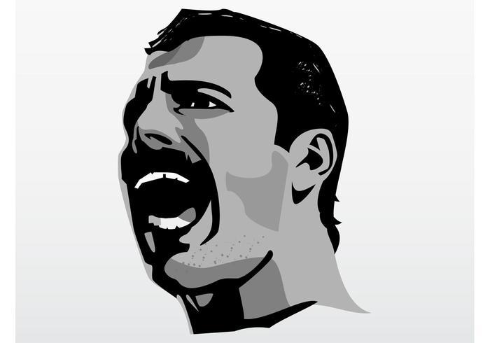 Singing Freddie Mercury