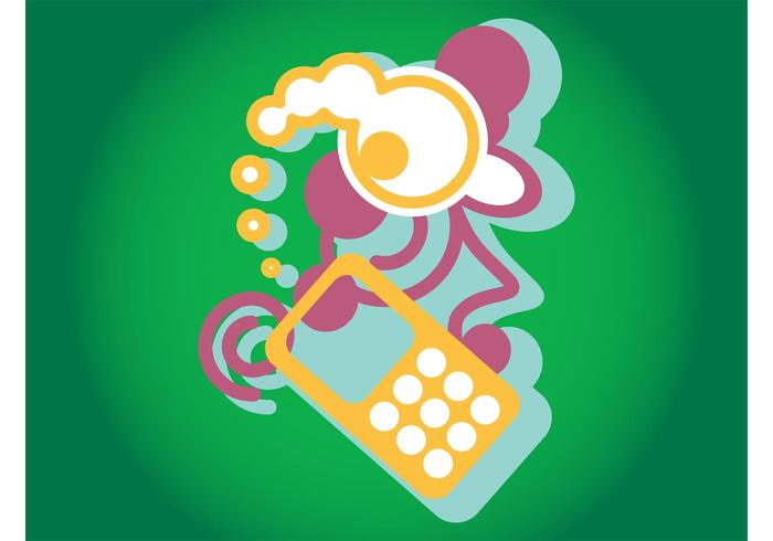 Mobiltelefon grafik
