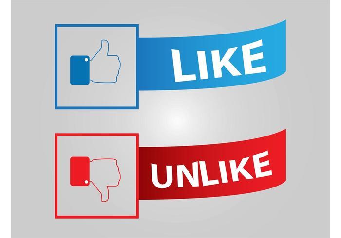 Botões de Facebook