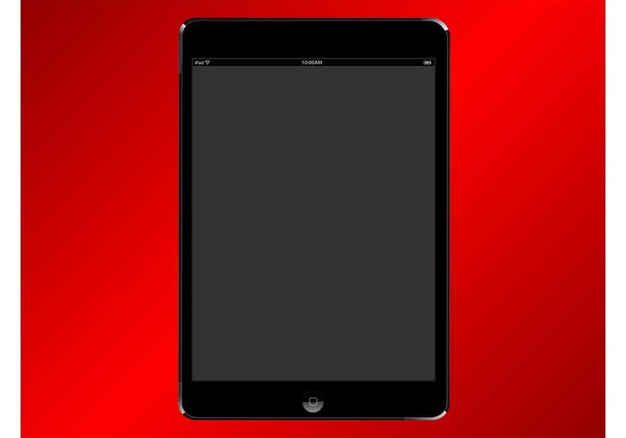 ipad mini vector download free vector art stock