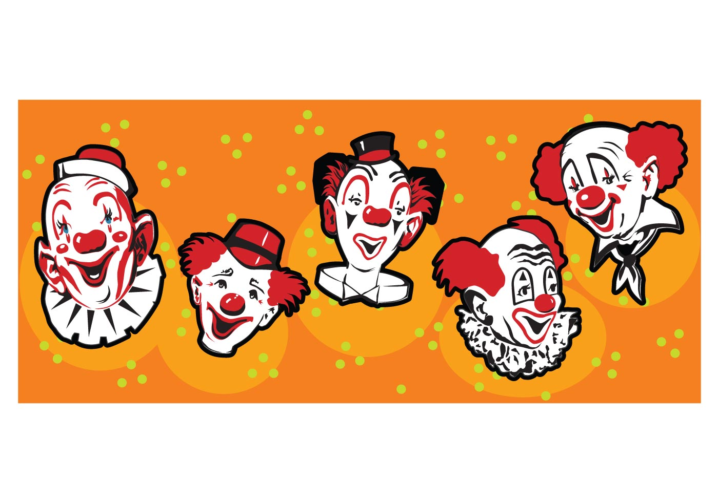 Funny Clowns Download Free Vector Art Stock Graphics