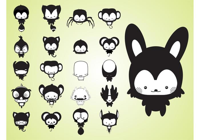 Cute Cartoon Creatures