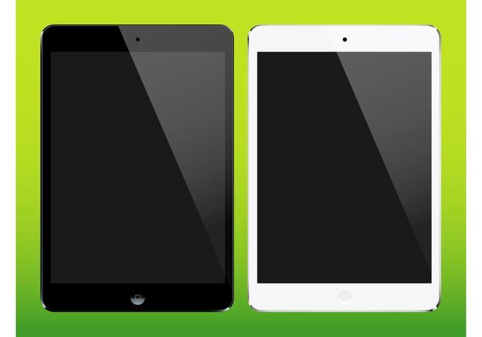 iPad Mini Vectors
