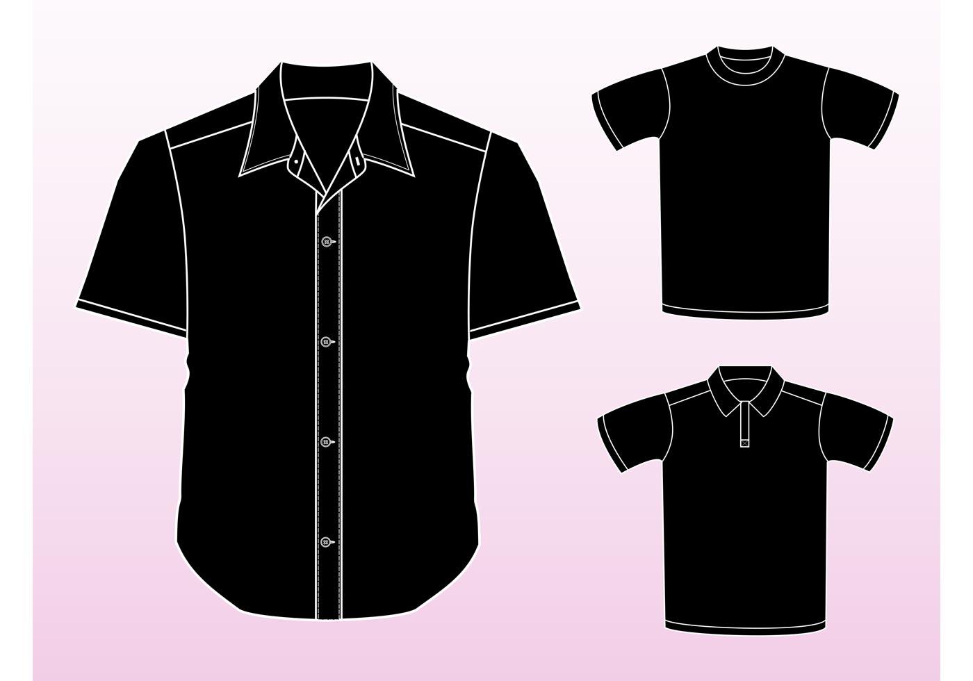 Vectores de la camisa - Descargue Gráficos y Vectores Gratis