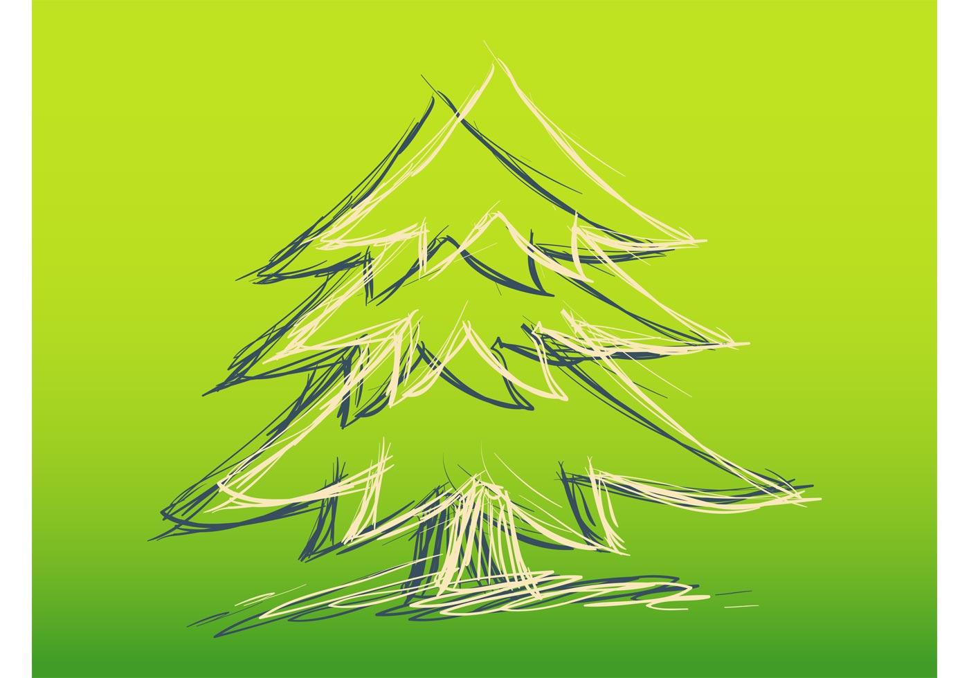 Weihnachten Skizze - Kostenlose Vektor-Kunst, Archiv-Grafiken ...