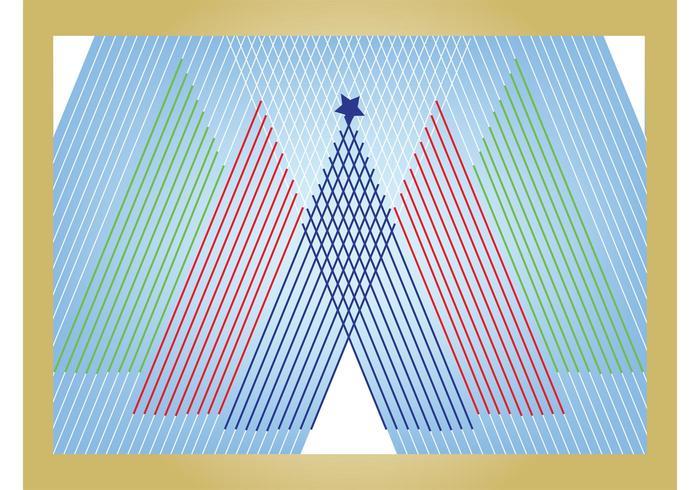 Linear Art Card
