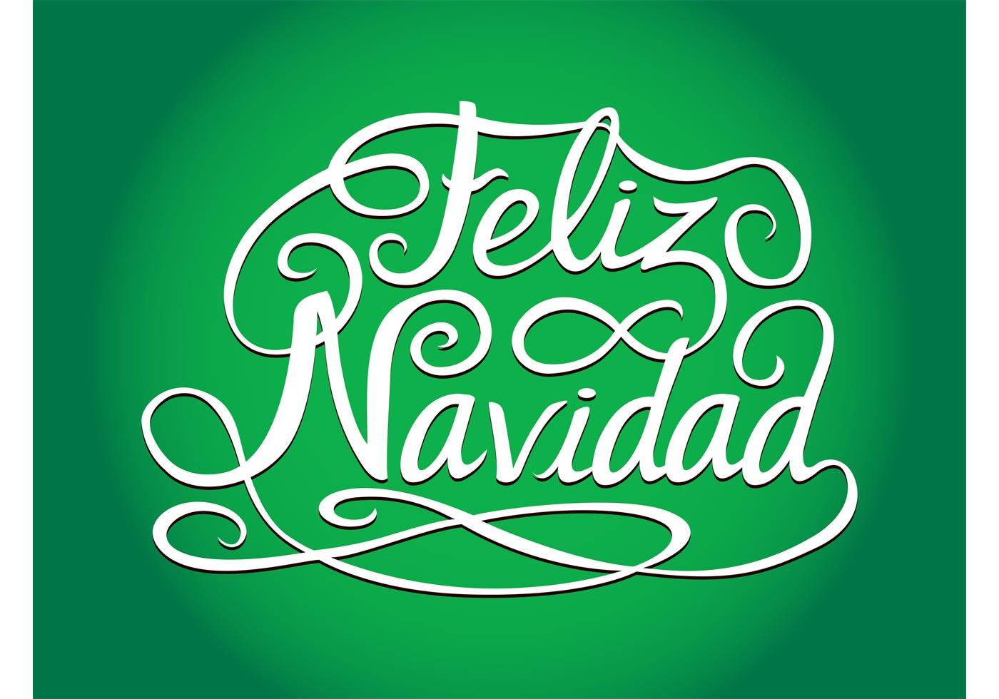 Spanish Christmas Greetings - Download Free Vector Art ...