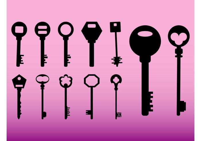 Keys Icons