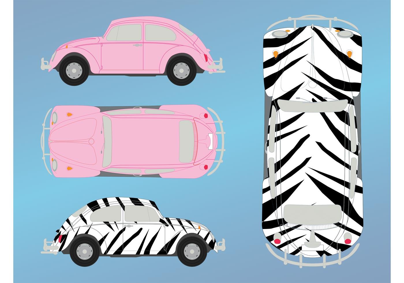 Volkswagen Beetle Free Vector Art - (2447 Free Downloads)