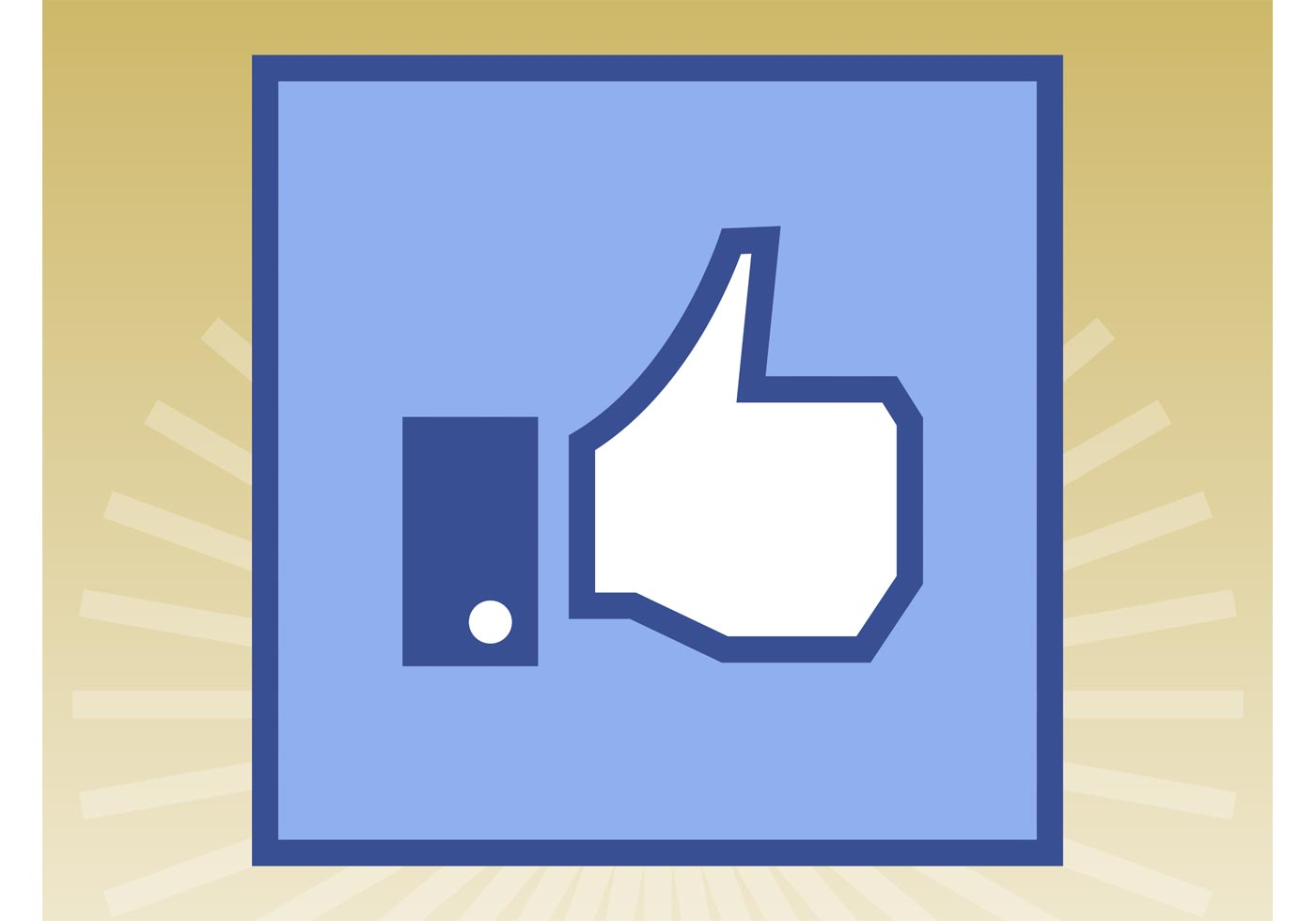 Facebook Like Button Free Vector Art 3580 Free Downloads