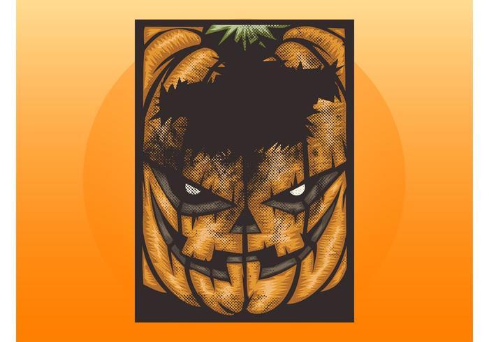 Grunge Halloween Layout