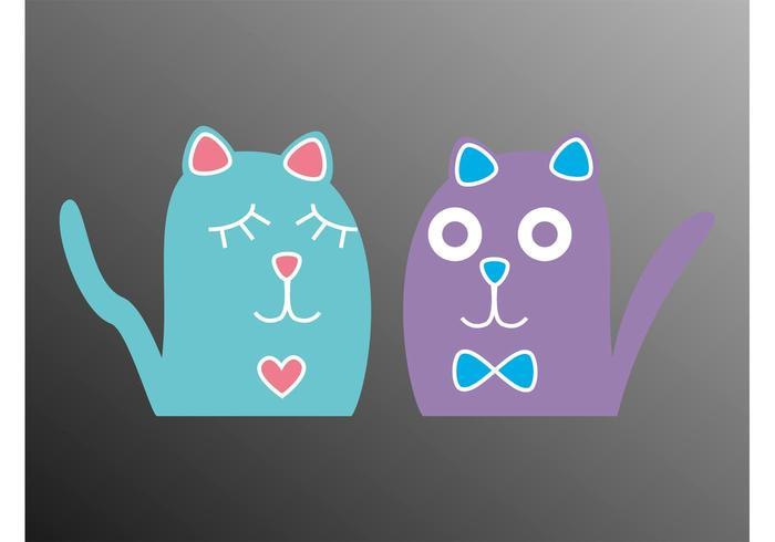 Cartoon Kittens