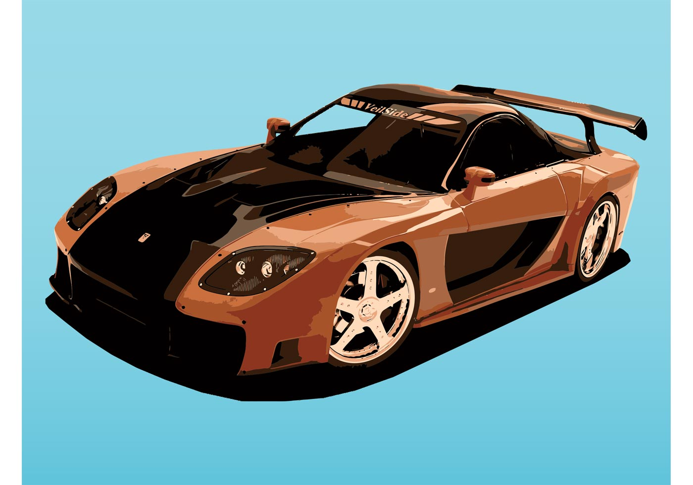 Mazda sports car download free vector art stock - Sports car pictures download ...
