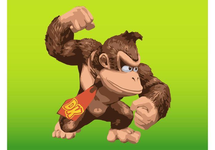 Donkey Kong vektor