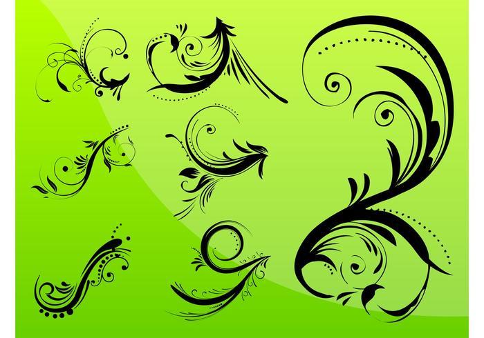 Floral Swirls Designs