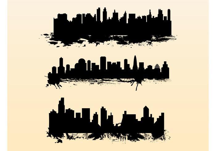 Splatter Cityscapes
