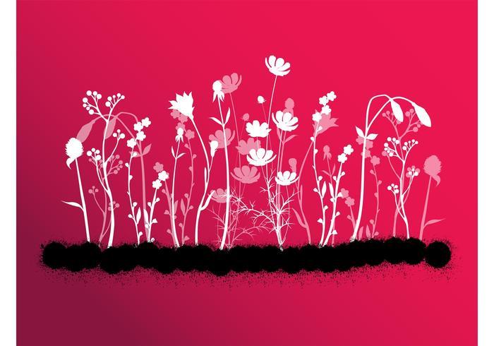 Splatter Bloemen