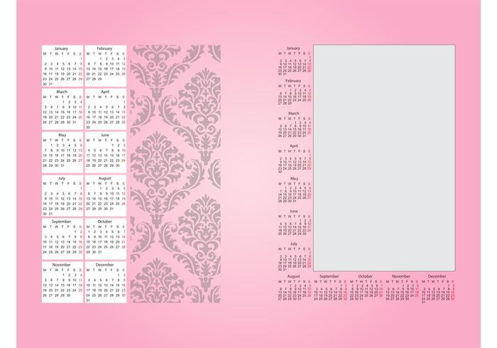 Decoración Calendario