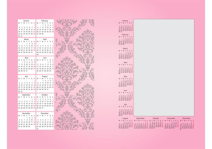 Calendar Decoration