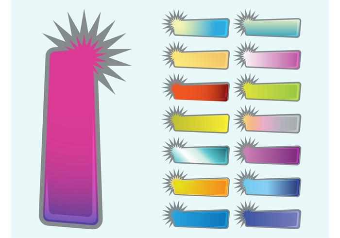 Starburst Banners Collection