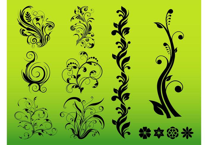 Flowers Decals