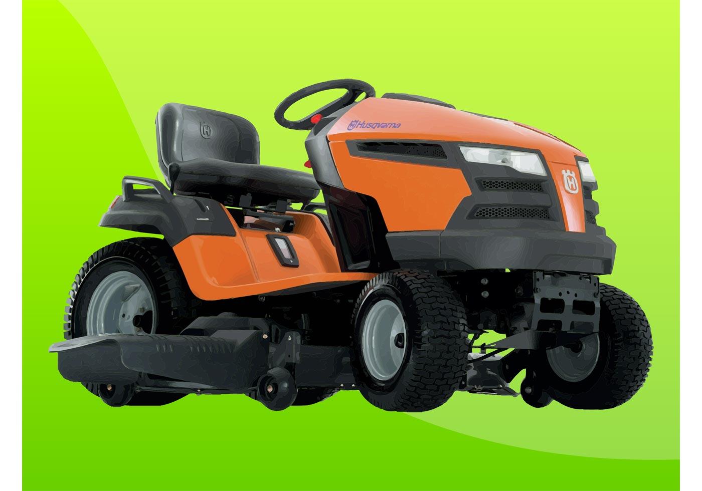 lawn mower free vector art