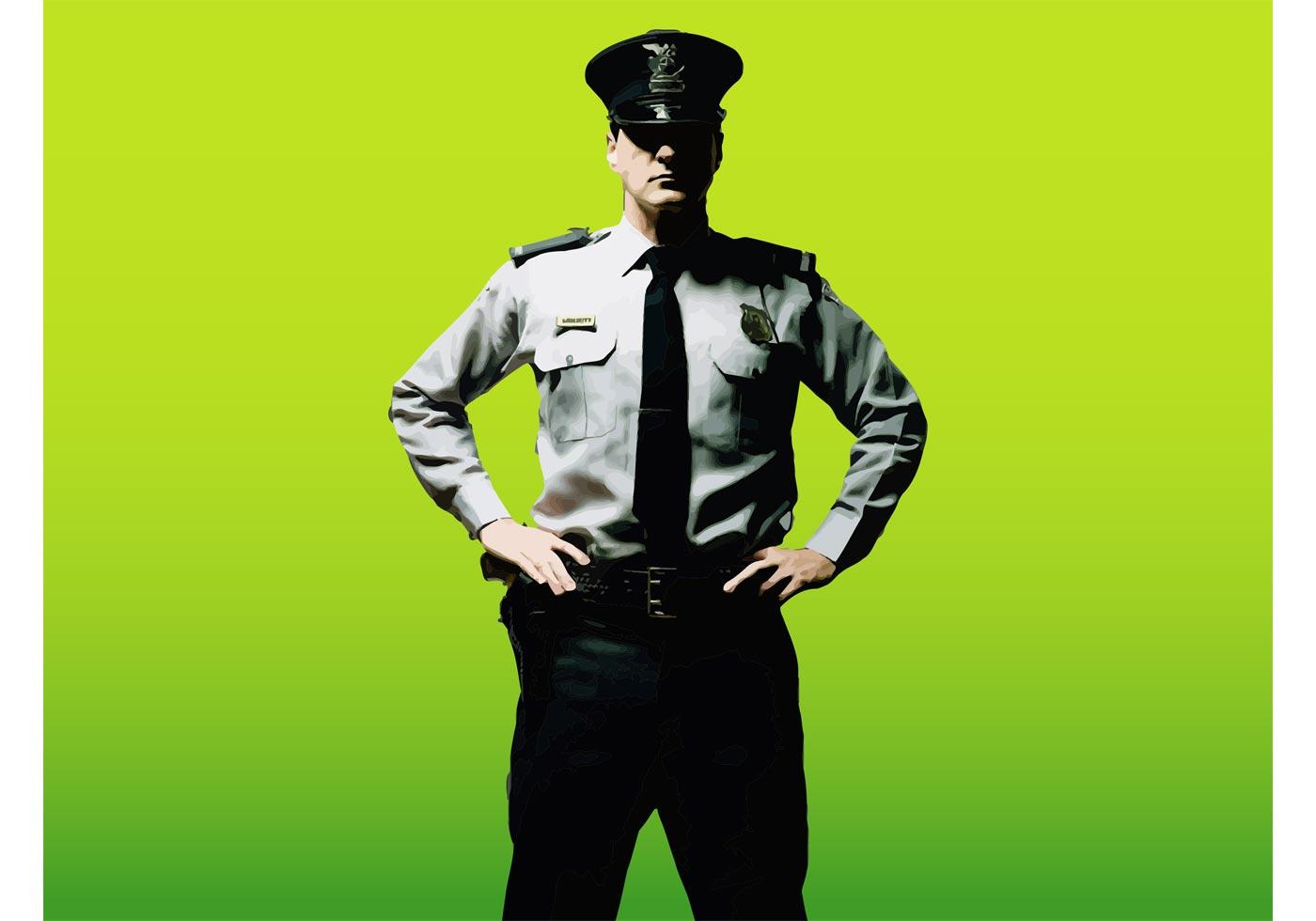 Security Guard Vector - Download Free Vector Art, Stock ...