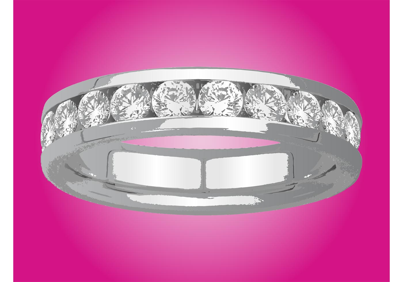 Diamond Ring - Download Free Vector Art, Stock Graphics & Images