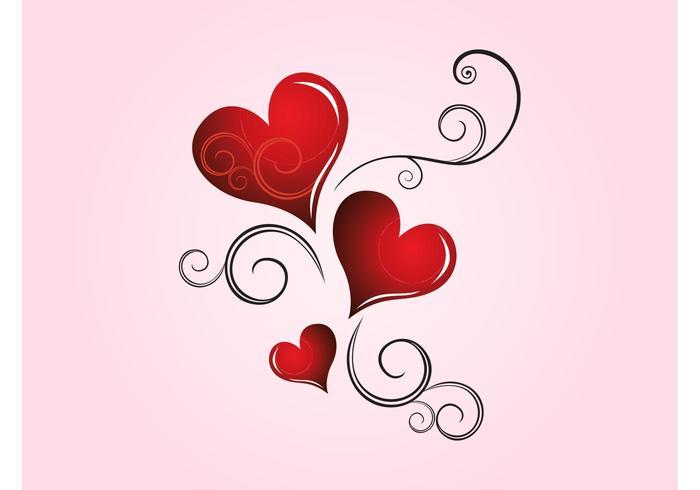 Hearts Scrolls