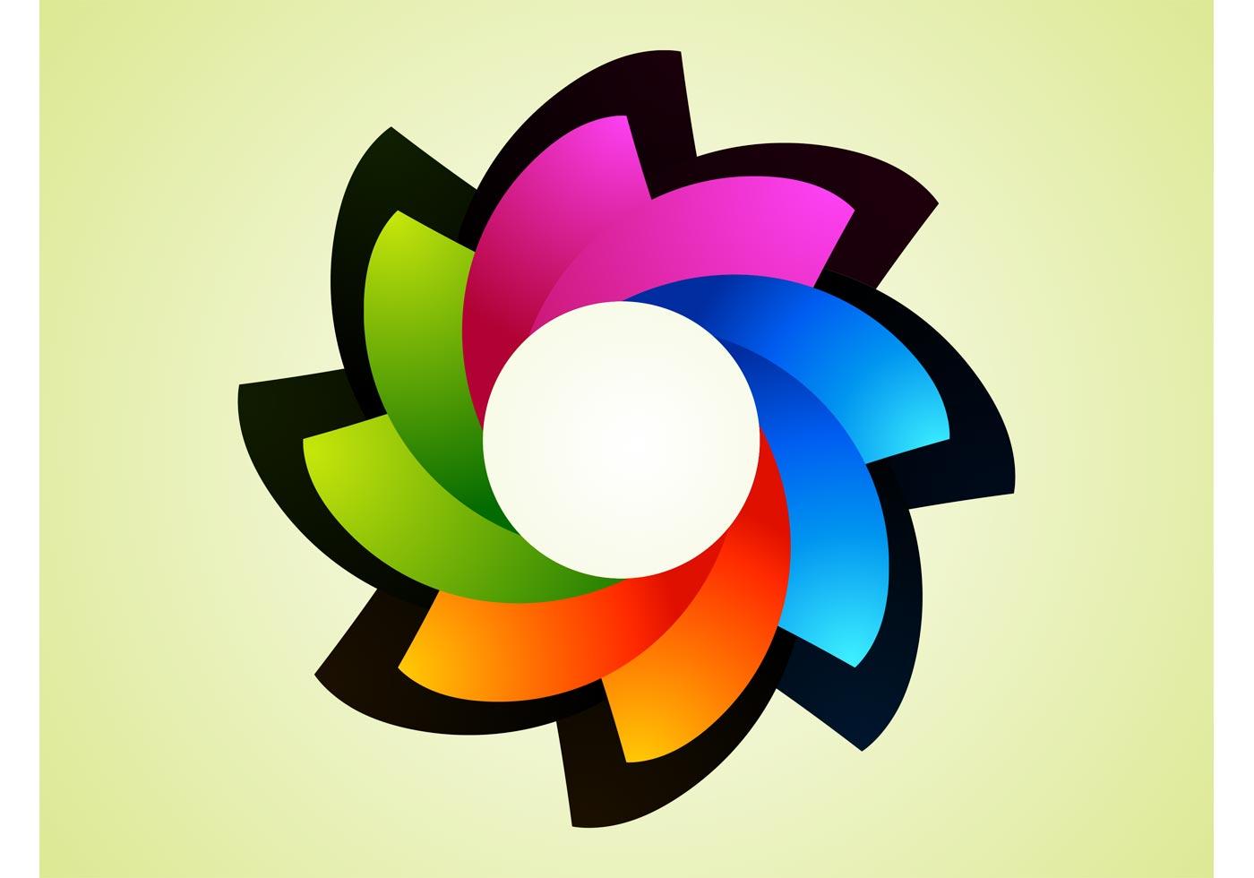 Rainbow Flower Logo - Download Free Vector Art, Stock ... | 1400 x 980 jpeg 56kB