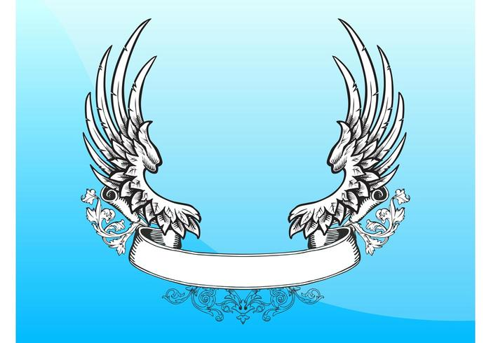 Retro Flügel