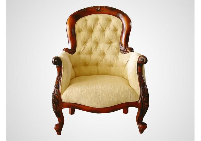 Antique Chair - Antique Chair - Download Free Vector Art, Stock Graphics & Images