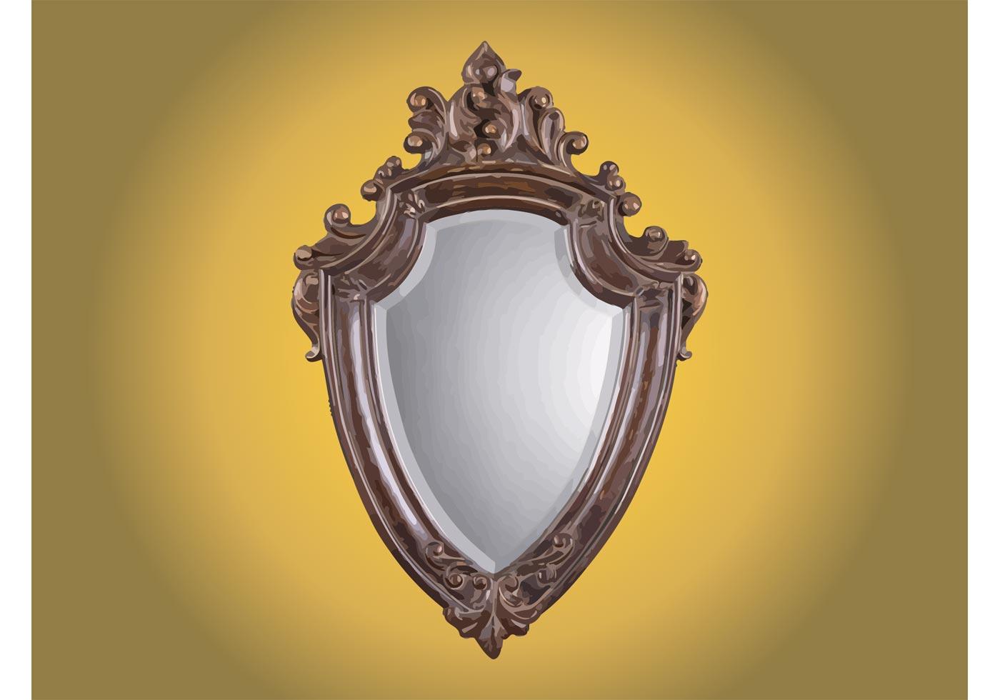 Gratis Espejo Antiguo Arte Vector - (2978 Descargas Gratis)