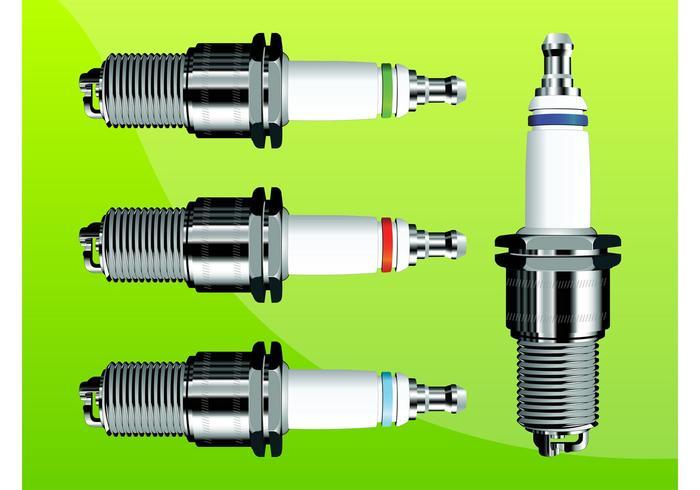 Spark Plug Vectors