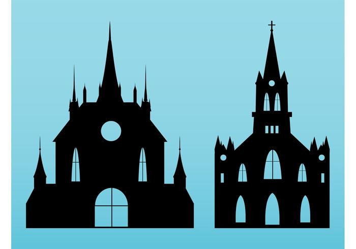 Churches Vectors