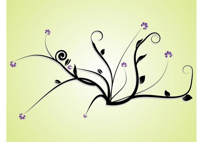 Floral Image Vector