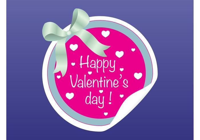 Valentine Badge