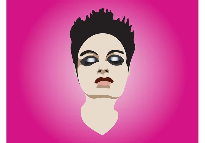 Make-Up Girl Portrait