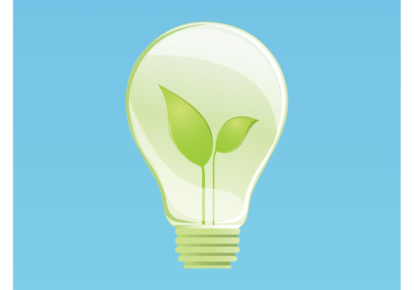 eco lightbulb download free vector art stock graphics