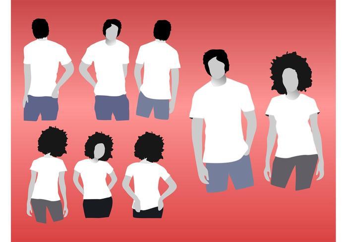 T-shirtmodellen