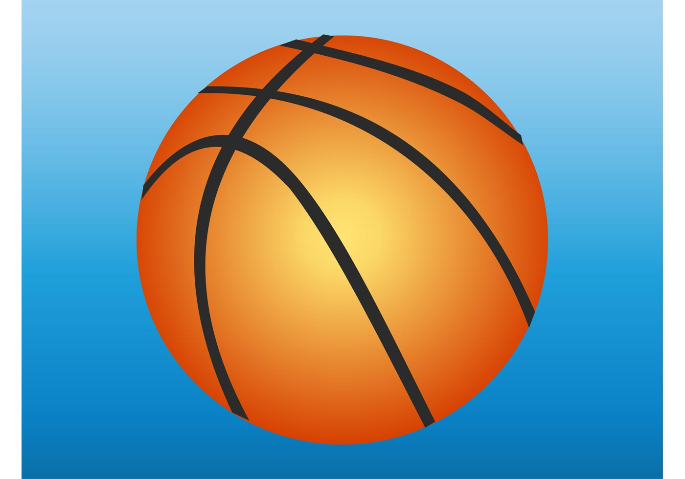 Basketball vector graphics download free vector art stock graphics images for Free basketball vector