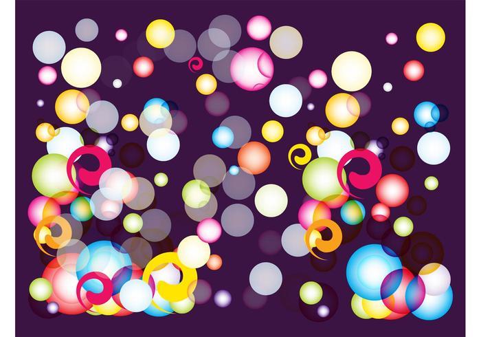 Colorful Bubbles Graphics