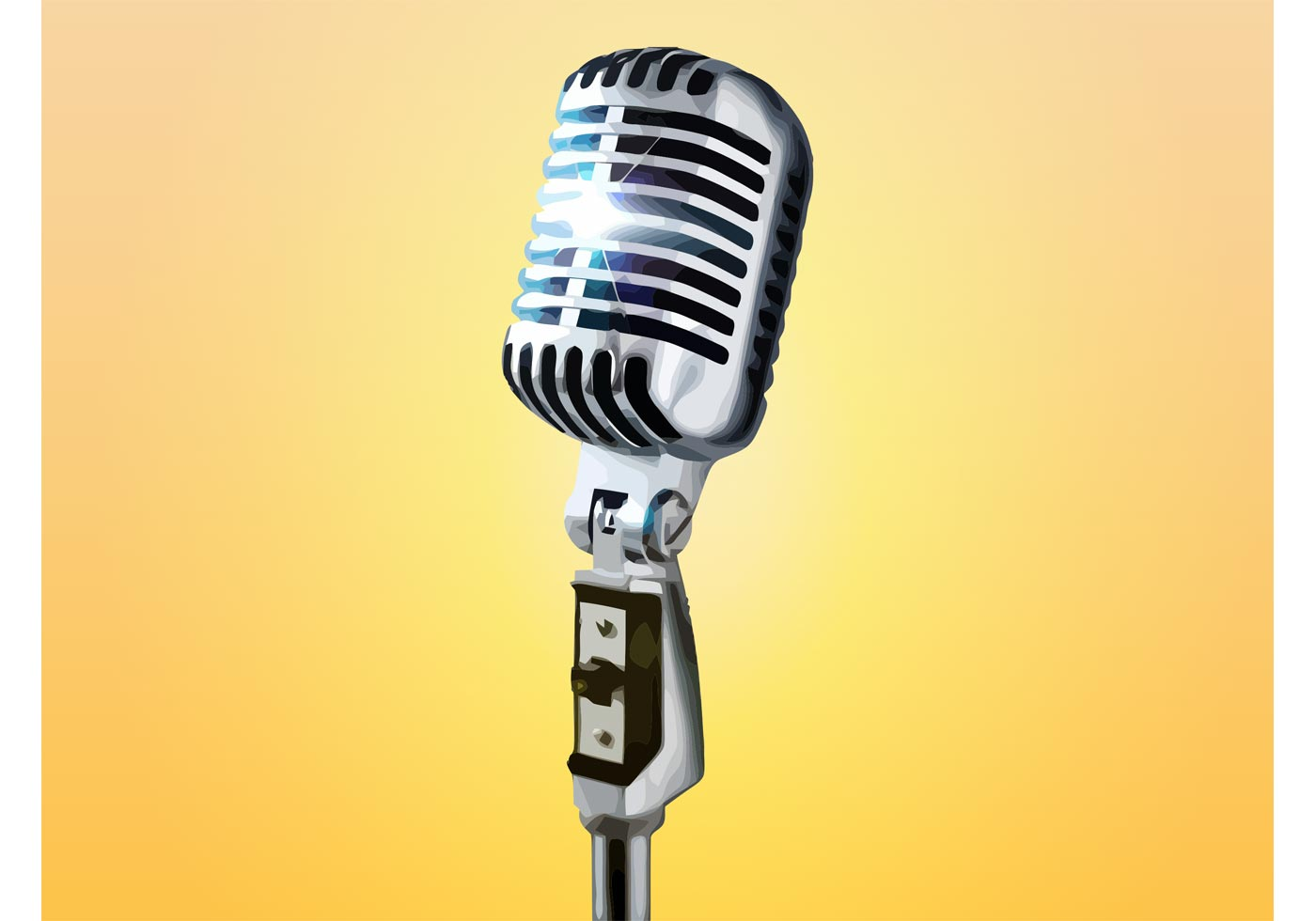 Microphone - Download Free Vector Art, Stock Graphics & Images