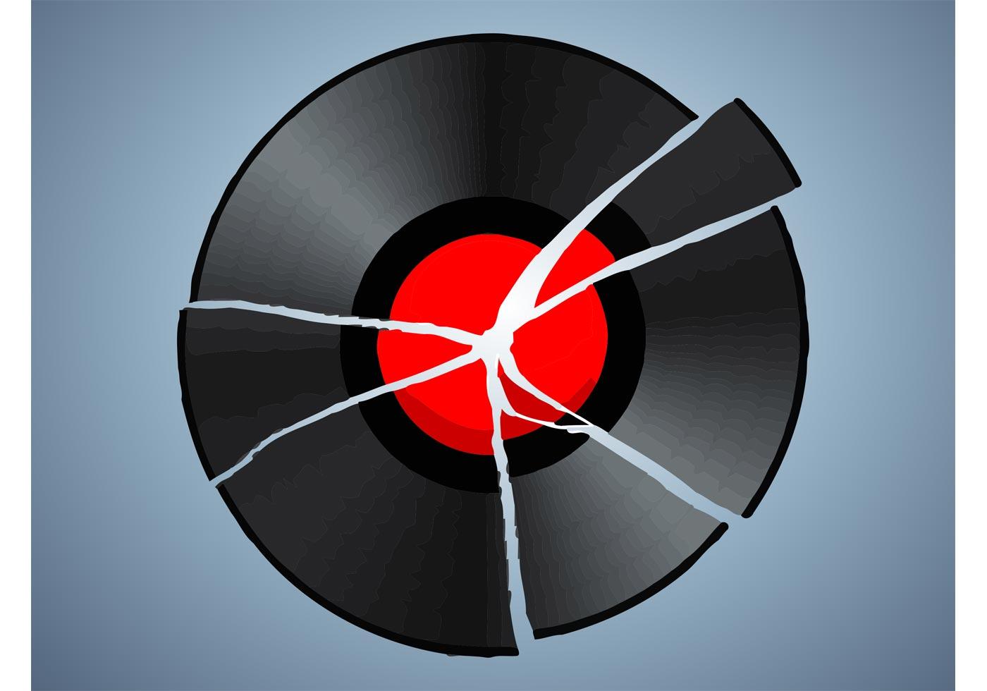 Broken Record Download Free Vector Art Stock Graphics