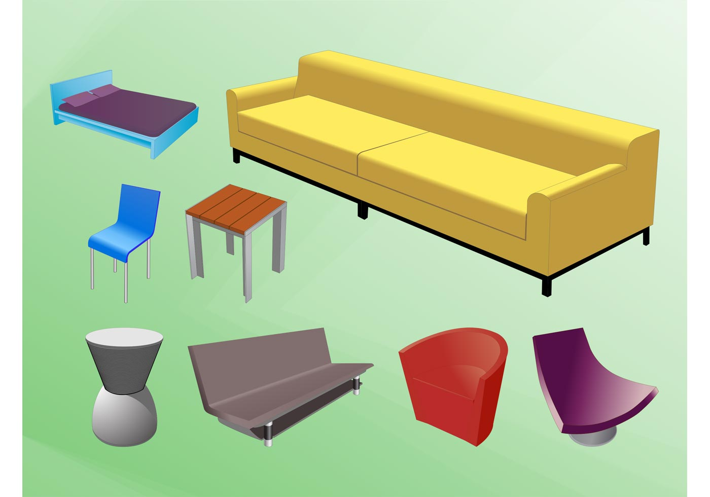 Furniture designs download free vector art stock Furniture design software free download