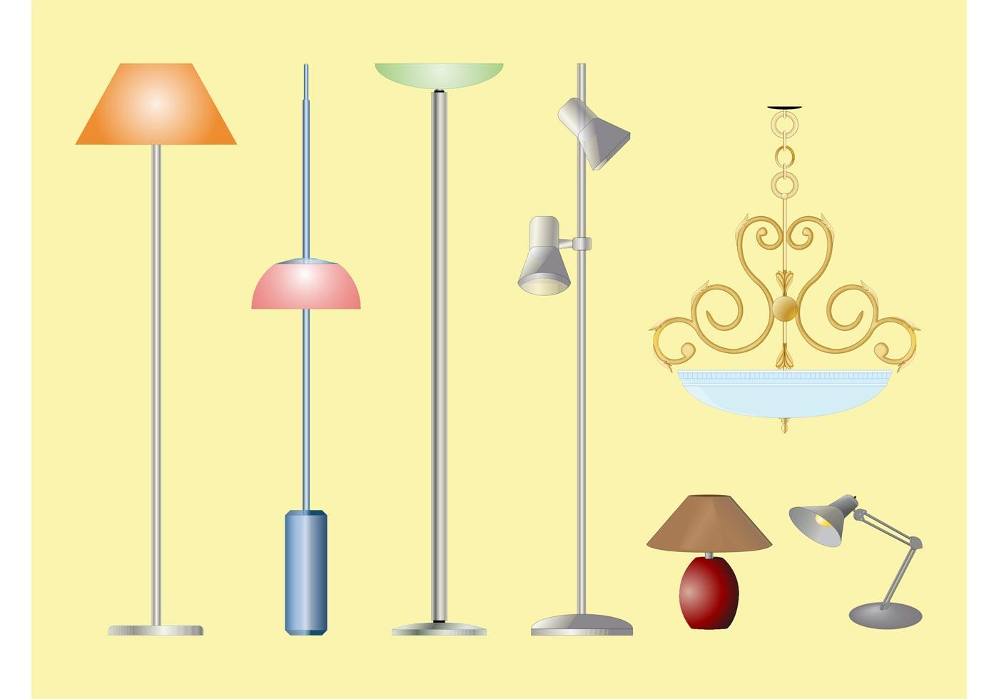 Lamp Free Vector Art 6393 Free Downloads