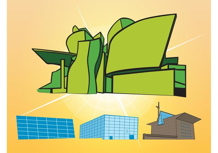 Buildings Vectors